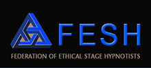 Alan is proud to be a member of the Federation of Ethical Stage Hypnotists